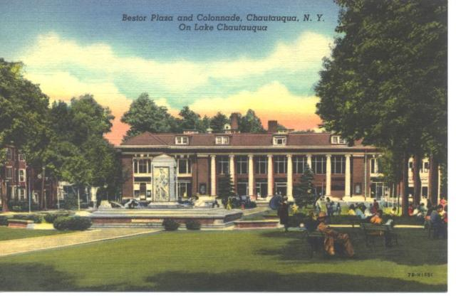 colonnade post card