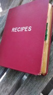 Spread recipe book cover