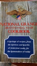 rhubarb crisp grange cookbook