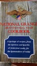 rhubarb crisp grange cookbook