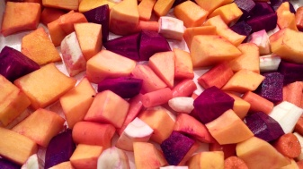 Oct kit - cut root veg