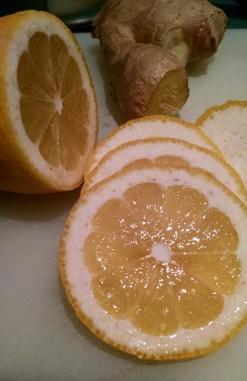 Pear - lemon and ginger (2)