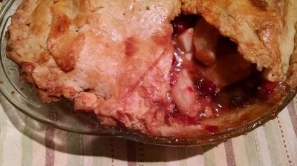Pie baked