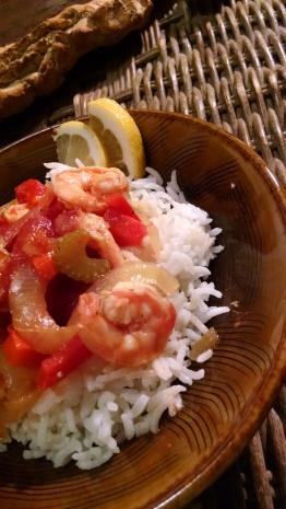 Shrimp creole done