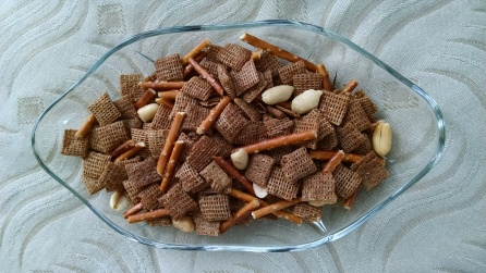 1960s chex mix done