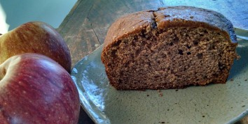 IMK March applesauce bread
