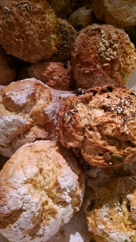 IMK May Irish scones