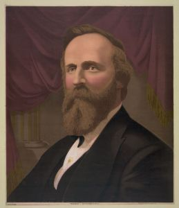 President Hayes. Source: Library of Congress
