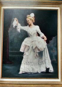 Elizabeth Marvin, 1896. Source: Marvin House Cookbook.