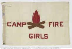 Camp Fire Girls flag - Harvard Univ