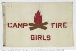 Camp Fire Girls flag - Harvard Univ