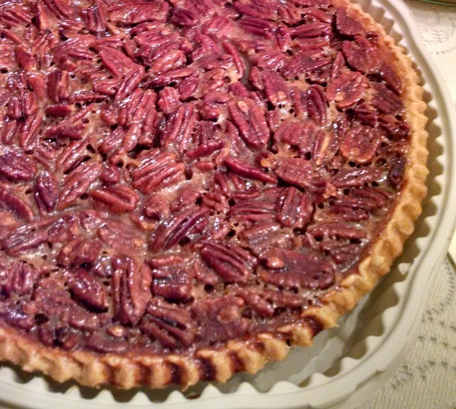 Pecan pie photo cropped