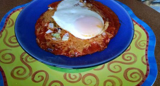 Enchilada done