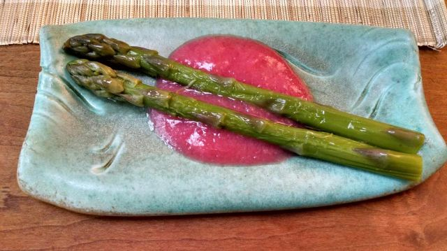 Rhubarb and asparagus 2
