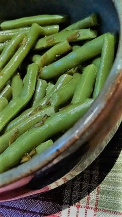 String beans done