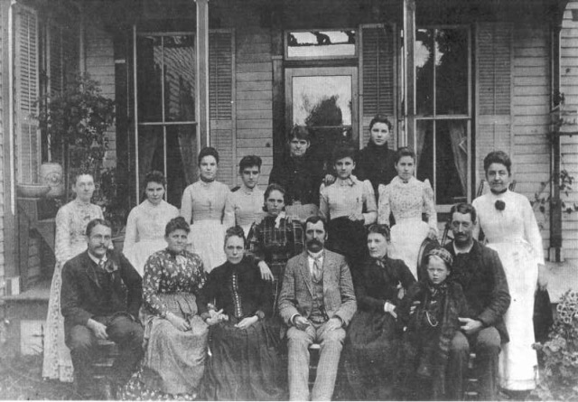 Hotel Lenhart Staff Photo 1881