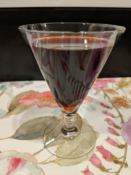 Raspberry vodka 1